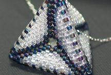 koraliki 3D gwiazdy, rozgwiazdy,trójkąty