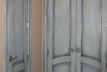 Door paint effect ideas