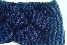 bandeau au tricot
