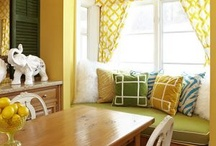 YELLOW: COLOR OF THE MONTH ON OUR FB PAGE / GET INSPIRED BY YELLOW.