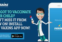 Vaccine Reminder App / Forgot to vaccinate your child? Don't miss it from now on! Install the Vaxins app now!