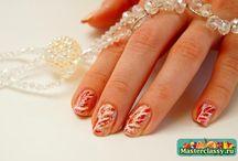 маникюр роспись ногтей