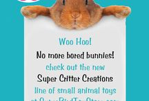 Super Critter Creations small animal toys