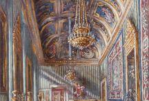 Interno Barocco / Vedute d' interni