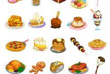 draw food