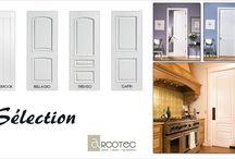 Série Sélection / Les portes Sélection possèdent un design d'inspiration européenne. À l'aide de leurs moulures surélevées, les modèles Bellagio, Capri et Treviso offrent à la fois le cachet et l'avant-garde que vous recherchez.