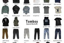 Style, tomboy, fashion