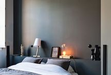 Schlafzimmer / Bettablage