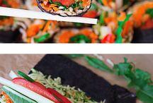 Sushi & rice paper rolls