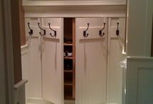 ENTRYWAYS AND MUDROOMS / by Darlene Greg