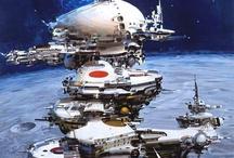 Sci-Fi Art / Science Fiction Kunst.