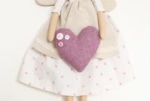 bambole e angeli / pupazzi