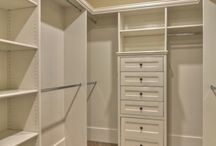 Bedroom / Walking wardrobe