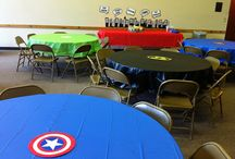Bubba's 1st Bday Theme / Marvel Comics / by Kim Griffin