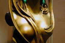Art Nouveau Statues