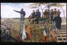 Les Patriotes - 1837/38/39 Qc / Nos Patriotes voulaient l'Indépendance du Québec. Le clergé les recevaient en confession   Ils ont tout dit. Ils ne savaient pas que le Haut-Clergé faisait un serment de servir l'Empire.