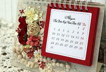 календари своими руками