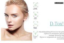 D- Tox, je huid straalt weer! / D- Tox voor een stralende huid. Een half uur durende massage voor een stralende huid!
