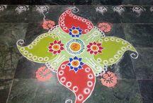 Rangoli made by.pooja.raikwar