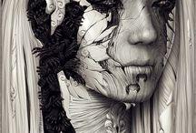 Digital Art deep in Mythology and Fantasy