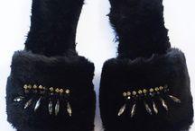Fur Sandals - Sandali con Pelliccia
