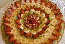 Decorazione Crostata Con Frutta