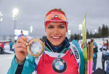 Gabriela Koukalová / Ráda koukám na biatlon a Gabča je nejlepší