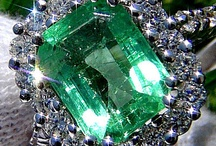 Emerald - The May Birthstone / As the birthstone for May, the emerald, a symbol of rebirth, is believed to grant the owner foresight, good fortune, and youth