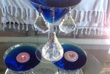 Heavenly Milky Way Bling Table Decor
