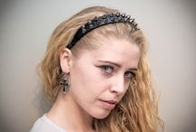 Headband from YumiCamui / Here is a great punk headband! And others my headbands?you can order it!