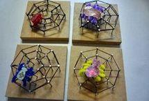 Spinnenweb maken