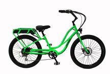 Step-Thru Interceptors III / The Pedego Interceptor is the electric bike that has it all -- combining beach cruiser comfort and style with breathtaking performance and user friendly features.