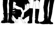 ship: polyvolley / hinata & tsukki & kageyama & yachi & yamaguchi ;; love knows no limits