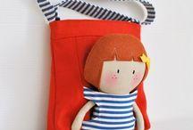 bolsa com boneca