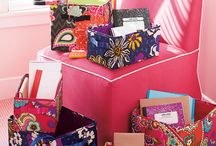 My Suite Setup Sweepstakes / Vera Bradley has been my favorite and my girls favorite for years. Right now they are having a sweepstakes! I am pinning what my girls and I love in our favorite patterns using  #MySuiteSetupSweepstakes for each pin :)  / by Melody Shaw