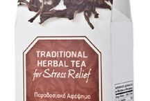 100% Natural Herbal Tea for Stress Remedy and Relief