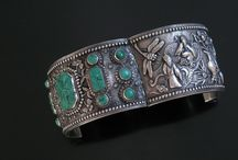 ANTIQUE CHINESE SILVER JEWELRY