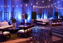 Roof Top: Urban Garden / When the roof top garden meets the city! Rest assured @SoCoolEvents can provide you the highest quality items for your upcoming event!