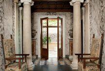 Hall and corridor, windows and doors