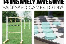 BACKYARD GAME/GIFT IDEAS