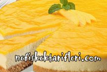 cheesecake ve turta