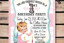 Vintage Baby 1st Birthday Party!