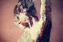 Mosaic art works by #MozaikAtolye / Mozaik Sanat Mosaic Art