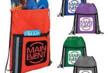 Tradeshow Giveaways / Looking a creative promotional giveaway for next tradeshow? Try Custom Drawstring Bags!