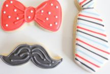 Little man cakes, cookies and cupcakes