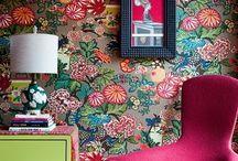 Pattern clashing / Prints that clash n interior design