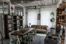 Loft interior design / Manufactory