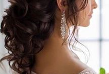 Bridal Hairstyle gór Long Hair