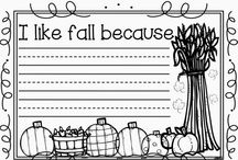 fall writing ideas