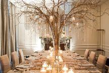 białe dekoracje
